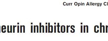 ciclosporina orticaria