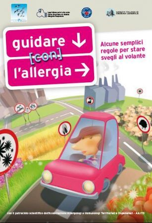guidare con l'allergia